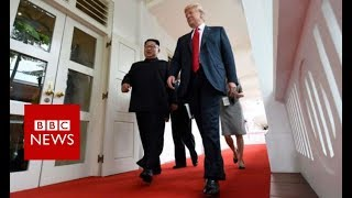 Trump Kim summit: What is the agenda? - BBC News
