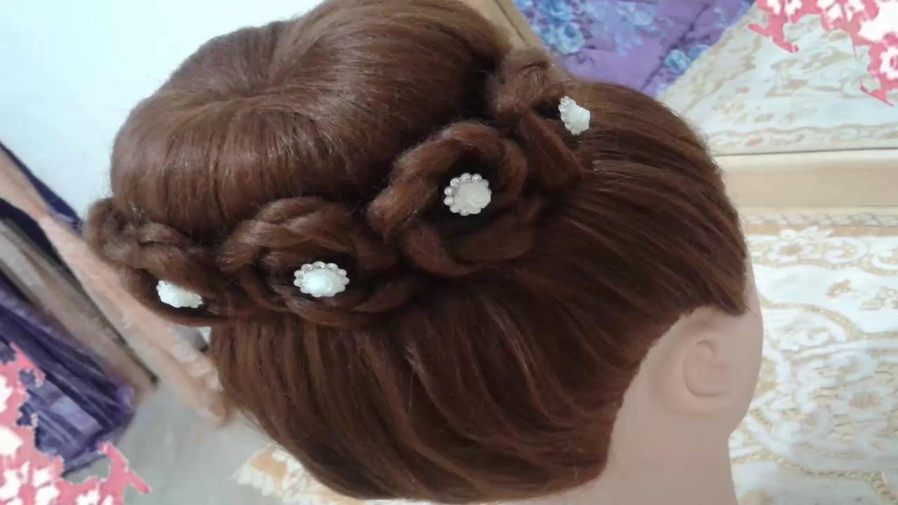 peinados recogidos faciles para cabello largo bonitos y rapidos con trenzas para nia para fiestas youtube