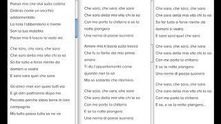 Che Sarà (my Duolingo project :-)