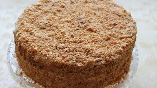 Торт Наполеон  Рецепт Классический с заварным кремом. Очень вкусный!
