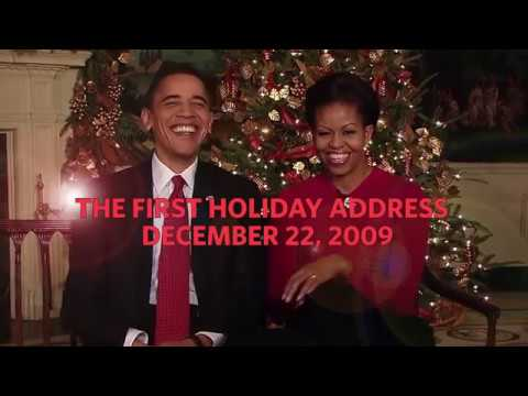 Obama Christmas.Outtakes From Obama S First Christmas Greeting