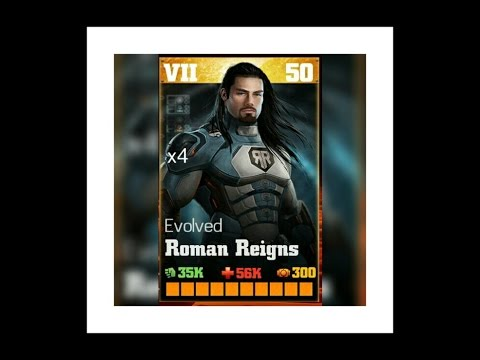 Evolved Roman Reigns - WWE IMMORTALS review with all moves !!