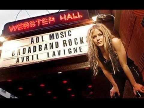 Avril Lavigne - Live at AOL Broadband Rocks New York 2004