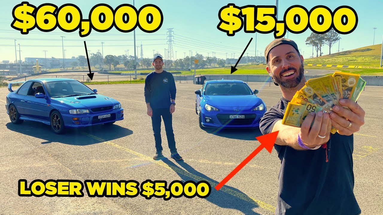 $15,000 Car vs $60,000 Car [Loser wins $5,000 CASH]