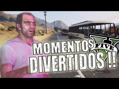GTA V | Momentos Divertidos (Funny Moments) (GTA 5) (Grand Theft Auto 5) Videos De Viajes