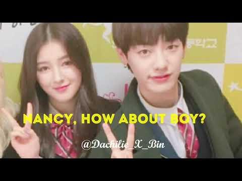 [NanWoo] Nancy choosing boy idols or Yeonwoo? 😍