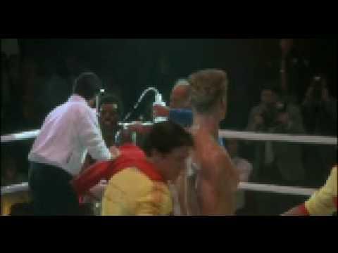 Rocky Iv 1985 Death Of Apollo Creed Vs Ivan Drago Youtube