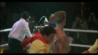Rocky IV[1985]death of apollo creed vs Ivan Drago