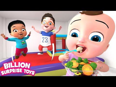 Five Little Babies | Vegetables Song | BST Kids Songs & Nursery Rhymes