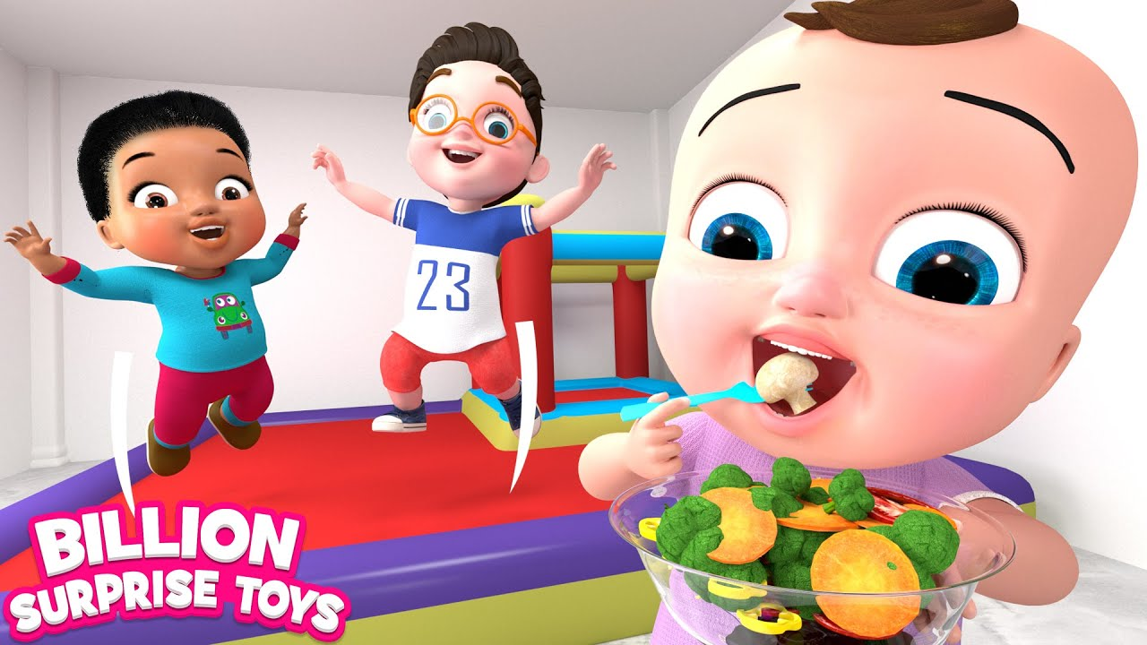 Five Little Babies | Vegetables Song | BST Kids Songs