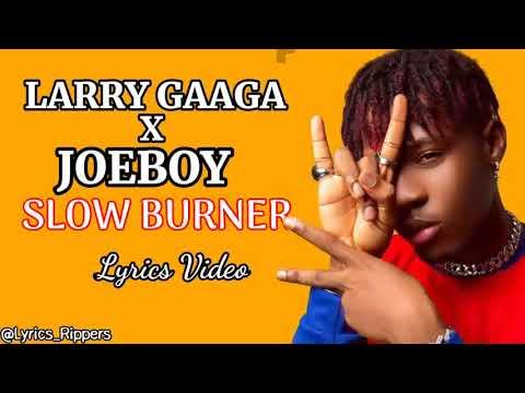 Download Larry Gaaga x Joeboy - Slow Burner (Lyrics Video)