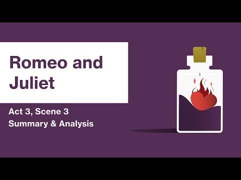 Romeo and Juliet by William Shakespeare | Act 3, Scene 3 Summary & Analysis