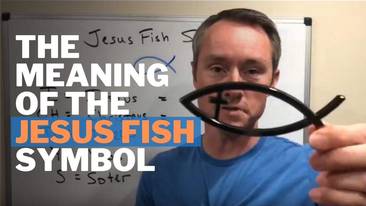 The Meaning of the Jesus Fish Symbol (ICHTHUS) - YouTube