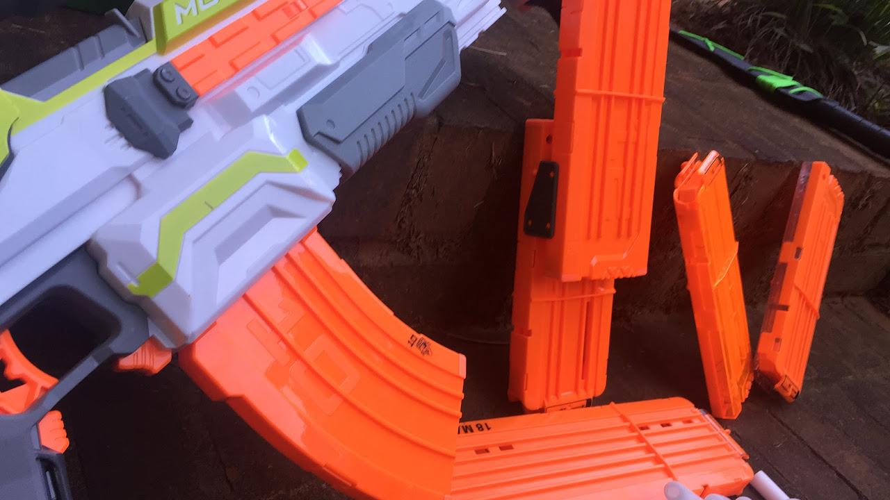 Nerf Modulus Flip Clip Upgrade Kit,