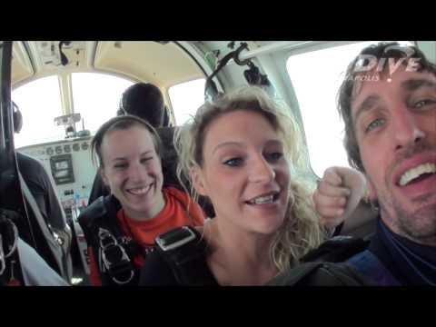 Candice Ferguson's Tandem skydive!