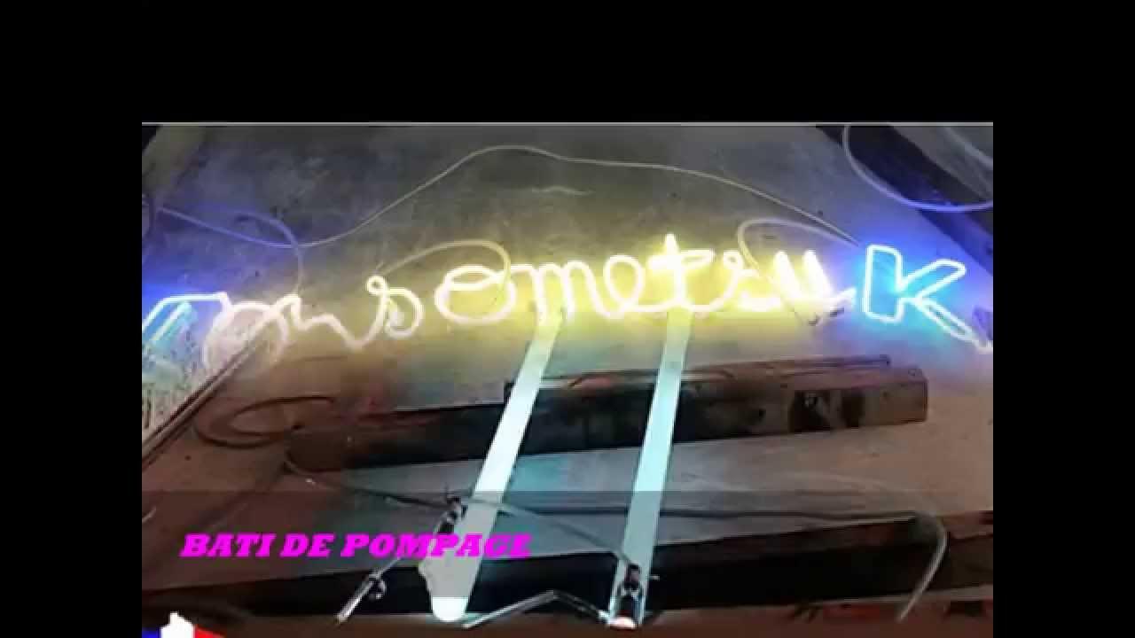 Préférence Enseignes lumineuses Néon/Leds en Algérie/Oran - YouTube TN73