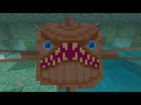 Minecraft (Xbox360/PS3) - TU31 Update! - Elder Guardian In All Textures!