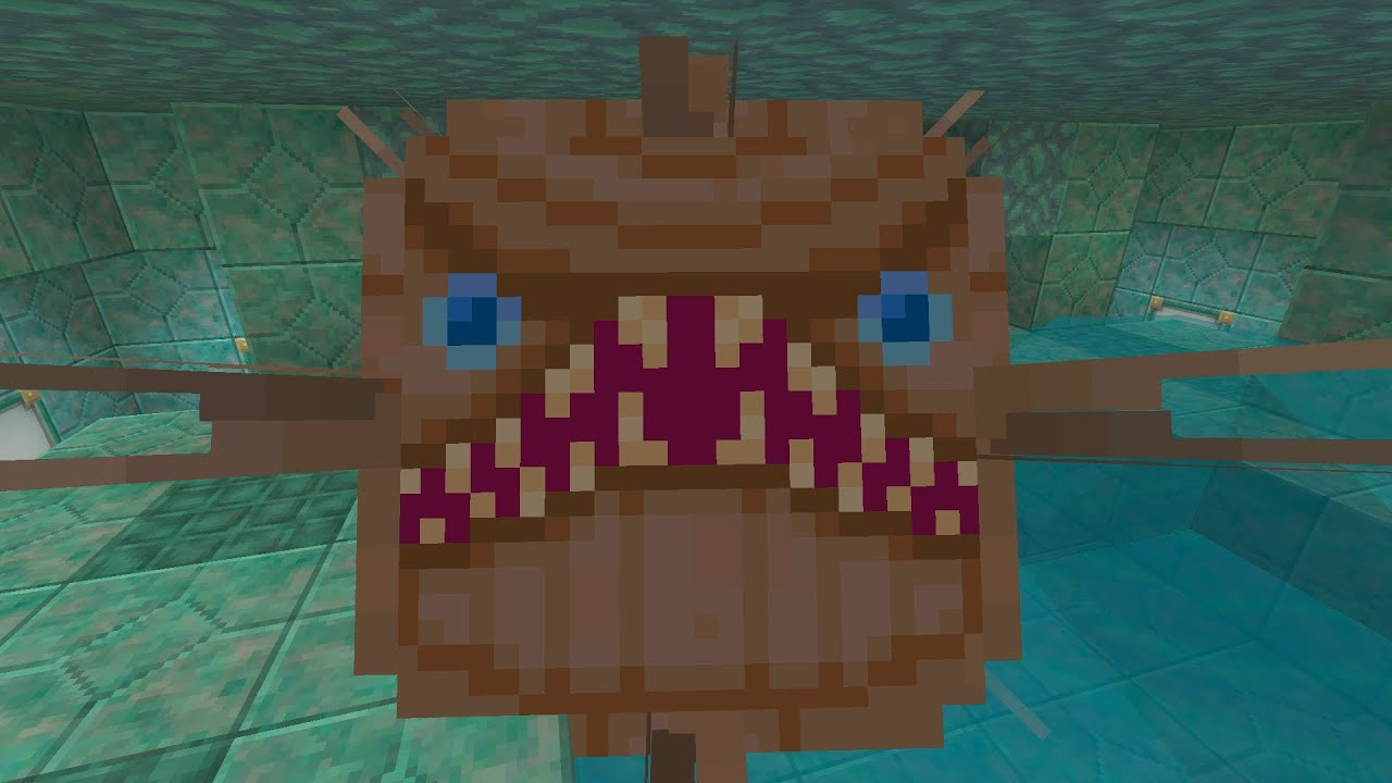Minecraft (Xbox360/PS3) – TU31 Update! – Elder Guardian In All Textures!