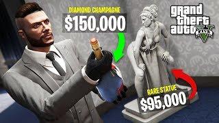GTA 5 Casino DLC $25,000,000 Spending Spree! New GTA 5 Casino DLC Showcase!