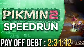 Pikmin 2 Pay Off Debt Speedrun in 2:31:12
