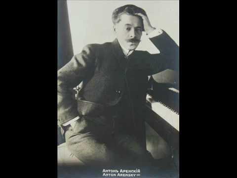 Arensky: Piano Quintet In D, Op. 51 - II. Variations, Andante, etc. [part 2/4]