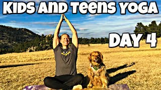 Thursday - Eagles and Wolves Class - Yoga for Kids and Teens Program