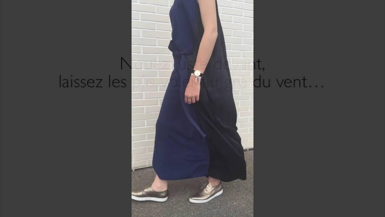 COP COPINE : robe longue modèle BENTO collection automne