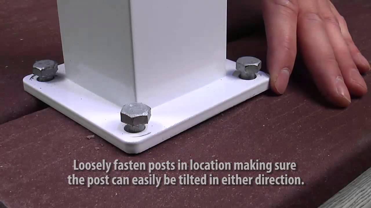 Century Aluminum Railings Picket and Glass Installation Instructions