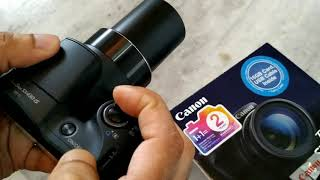 Canon Powershot SX430 camera unboxing and review