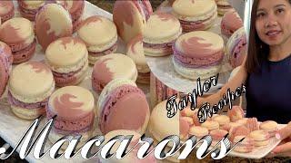 French Macarons - Kiệt Tác Bánh Pháp Macarons xinh ngon tuyệt vời - Taylor Recipes - cuộc sống Mỹ