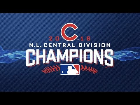 Chicago Cubs 2016 National League Central Champions - Playoff Hype Video