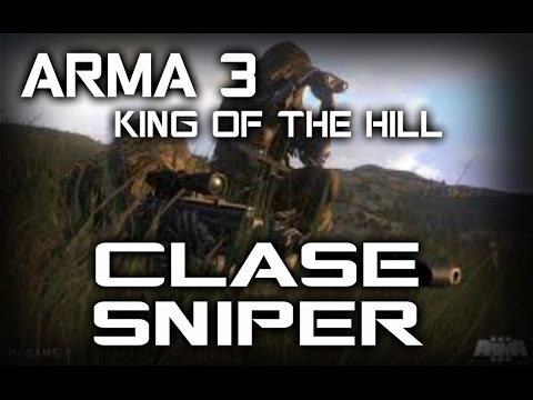 ARMA 3 - KING OF THE HILL ( SNIPER /ESPAÑOL )