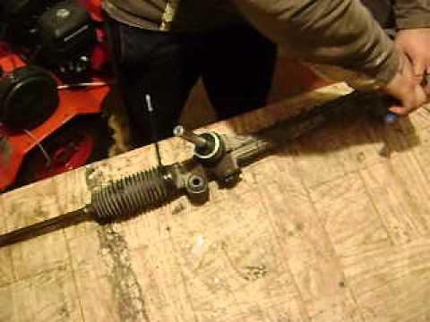 Опель мерива рулевая рейка ремонт своими руками