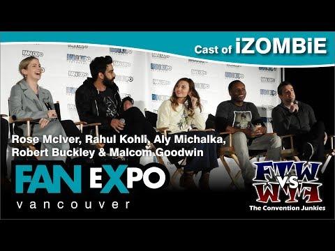 Cast of iZombie - Fan Expo Vancouver 2017 Q&A Panel