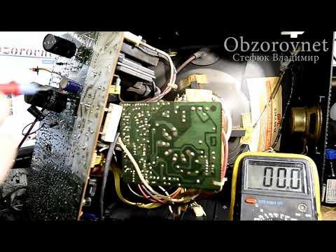 видео: Телевизор не включается ремонт