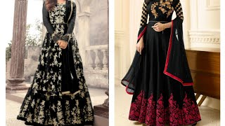 2019 Latest Anarkali designs for Girls and Woman | 80 Long Anarkali dress collection