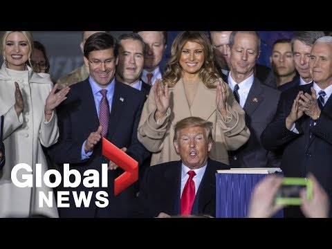 Trump Signs $738 Billion Defense Spending Bill