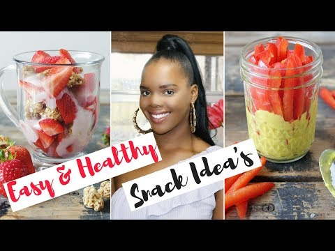 Easy Healthy Snack Ideas | Simple Weight Loss Snacks