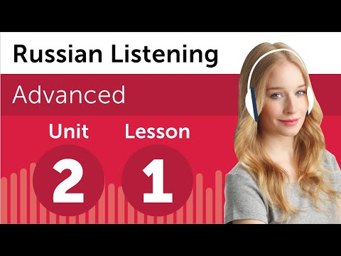 Russian Listening Comprehension - Discussing a Document in R