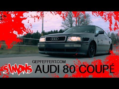 Gepfeffert.com - Simons Audi 80 Coupé - Tief Static KW Fahrwerk Gepfeffert Style airlesscompany
