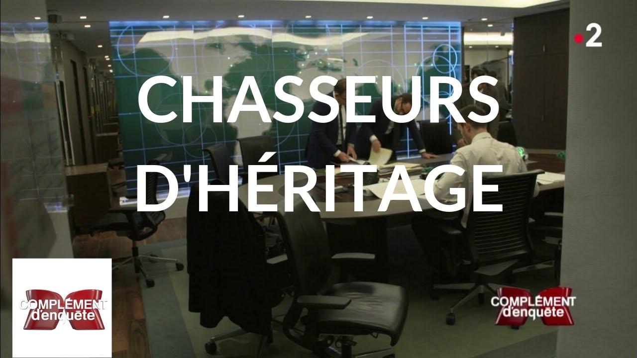 Complément d'enquête. Chasseurs d'héritage - 25 avril 2019 (France 2)