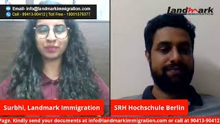 Live Chat Session - Mr. Ajith Mohan, SRH Hochschule, Germany