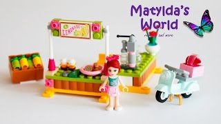 Lego Friends 2014 Mia's Lemonade Stand Set 41027 Review