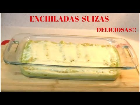 RECIPE: HOW TO MAKE ENCHILADAS SUIZAS