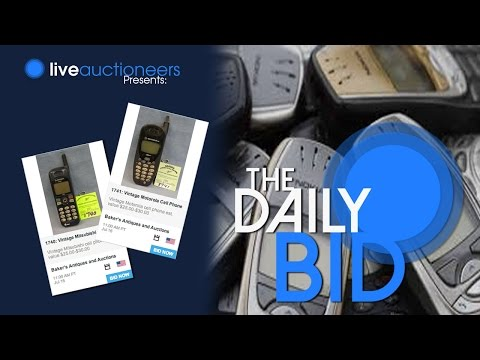 Vintage Cell Phones - The Daily Bid