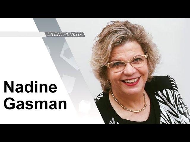 La Entrevista: Nadine Gasman, Presidenta de INMUJERES
