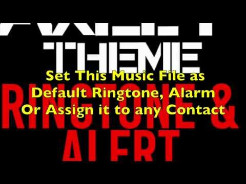 Axel F Theme by Harold Faltermeyer Ringtone and Alert