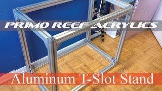 "Aluminum T Slot Stand (36""x22""x30"")"