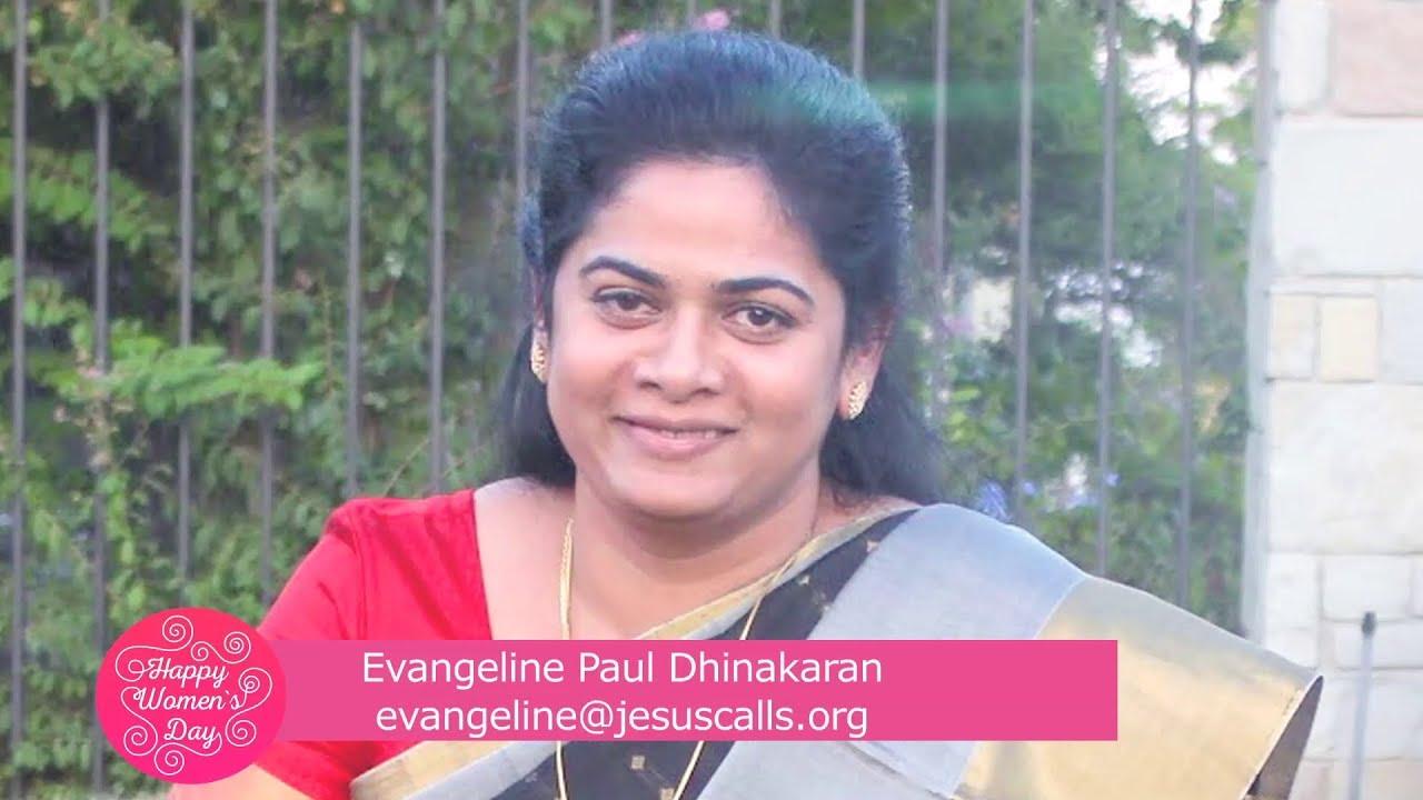 Happy Women's Day | Sis. Evangeline Paul Dhinakaran