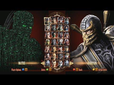 Mortal Kombat 9 Fatalities Matrix